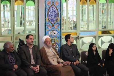 محفل انس باقرآن باحضور حافظ خردسال کشوری کل قرآن حنانه خلفی در دهاقان