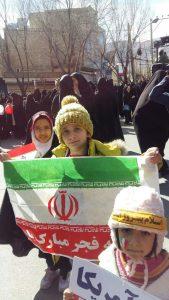 حضور پر شور مردم شهیدپرور وانقلابی شهرستان دهاقان در راهپیمایی ۲۲ بهمن