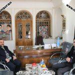 ملاقات مدیران مراکز قرآنی شهرستان دهاقان بامدیرعامل اتحادیه موسسات قرآنی