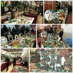 نمایشگاه گل و گیاه و سفره هفت سین درخانه فرهنگ وهنرشهرداری دهاقان برگزارشد