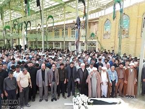 مراسم تشییع و به خاکسپاری حجت الاسلام مومن پوربرگزارشد.