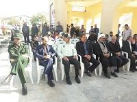 غبارروبی وعطرافشانی در گلستان شهدای دهاقان برگزارشد