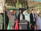 صبحگاه مشترک نیروهای انتظامی در دهاقان برگزار شد