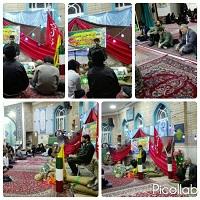 همایش بسیج زمینه ساز ظهور در مسجد الجواد مسکن مهر دهاقان برگزارشد