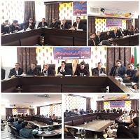جلسه ستاد باز آفرینی در فرمانداری دهاقان برگزار شد