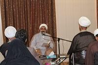 جلسه اول مباحثه ایات الاحکام در دفتر امام جمعه دهاقان برگزار شد
