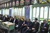 نماز جمعه دهاقان میزبان میز خدمت به مناسبت آغاز دهه مبارک فجر