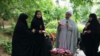 خواهران ستاد نماز جمعه شهرستان دهاقان