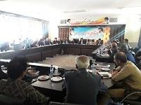 برگزاری جلسه شورای اداری در شهرستان دهاقان