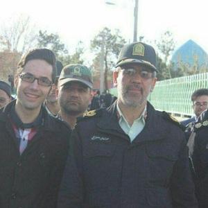 دیدار بافرماندهی محترم نیروی انتظامی استان اصفهان جناب آقای سردارمعصوم بیگی