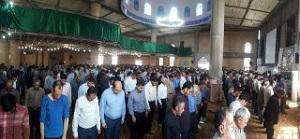 نماز باشکوه عید سعید فطر در دهاقان